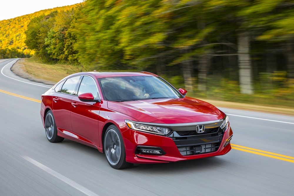 Honda Accord вошел в рейтинг 10Best по версии Car and Drive